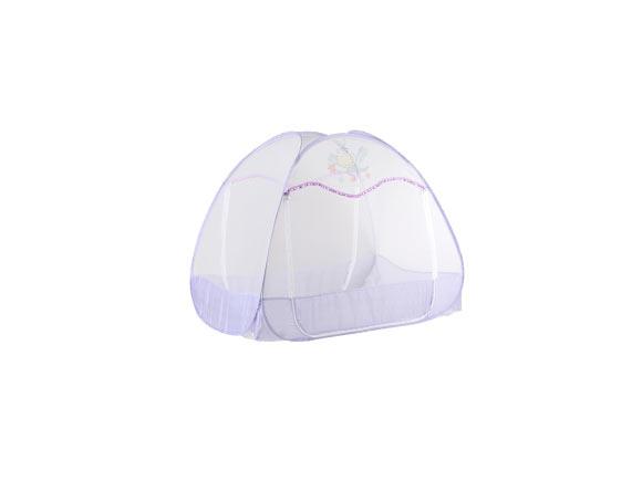 (1)蒙古包折叠式蚊帐怎么装方法:这种蚊帐的安装最