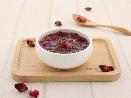 核桃枸杞紫米粥